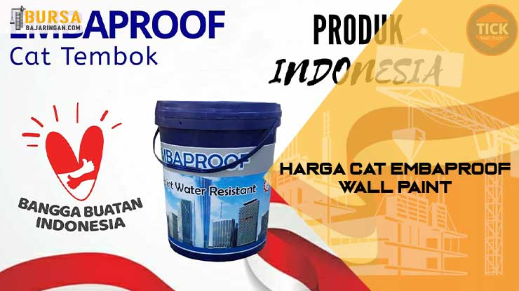 Harga Cat Embaproof