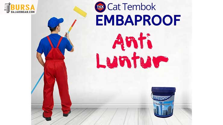 Harga Cat Tembok Embaproof