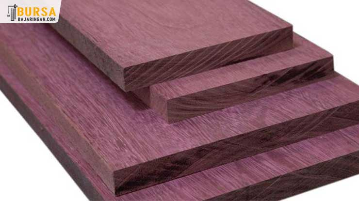 Kayu Purple Heart